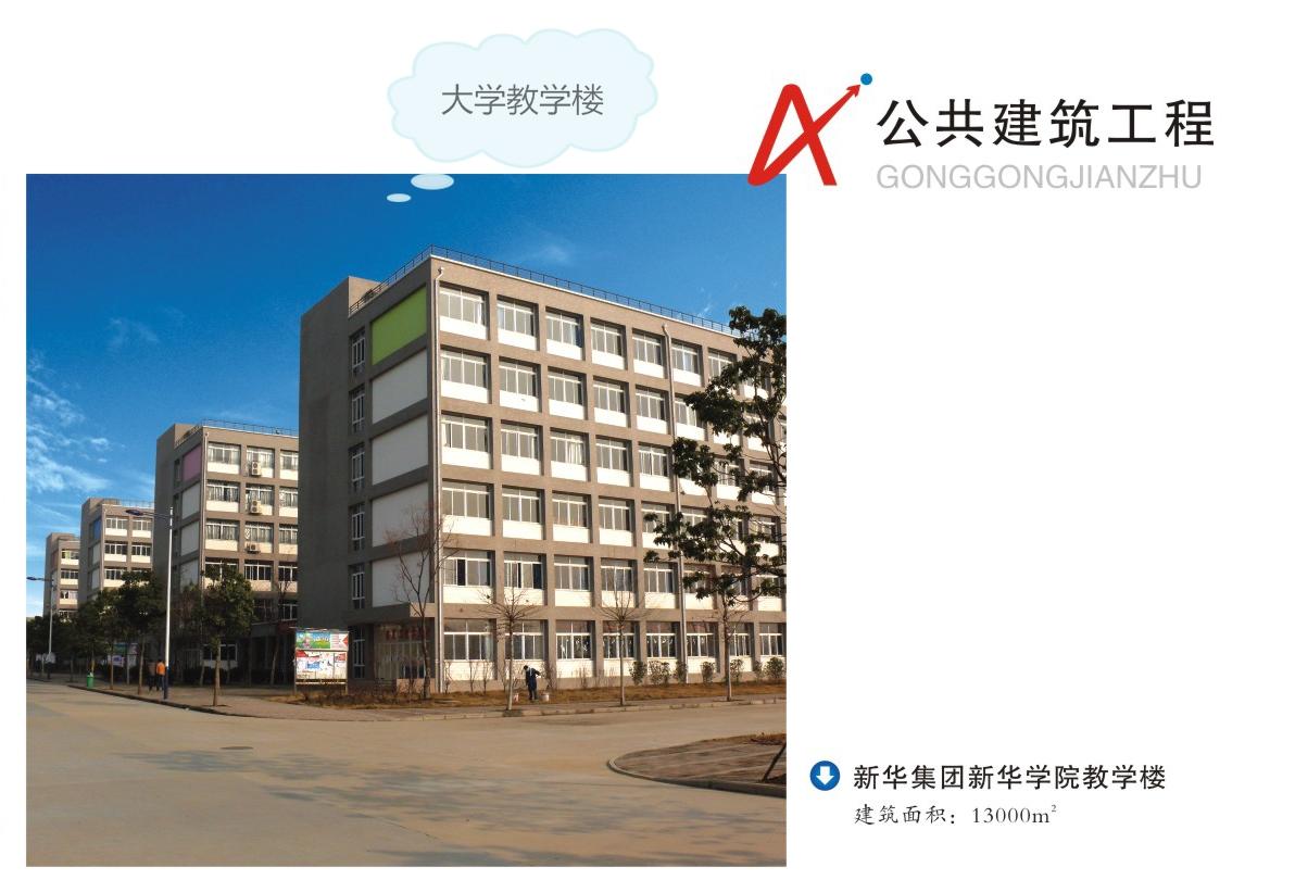 新华学院教学楼